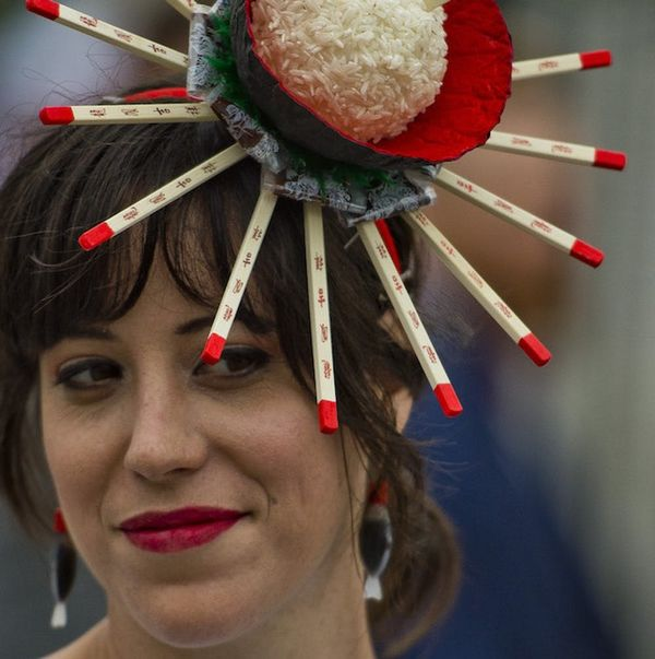 The 12 Most Jaw-Dropping Hats Spotted at the 2018 Kentucky Derby