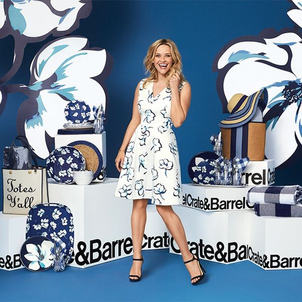 Crate and Barrel Launches Dreamy New Draper James Summer Line