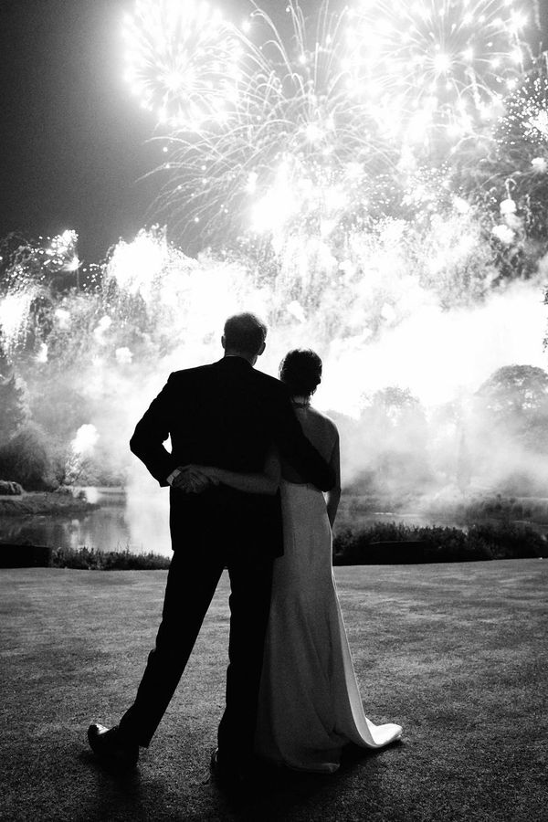 Prince Harry and Meghan Markle Used a Never-Before-Seen Wedding Pic for Their Christmas Card