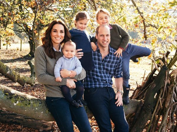 Prince George, Princess Charlotte, and Prince Louis Are All Smiles in Their 2018 Christmas Card