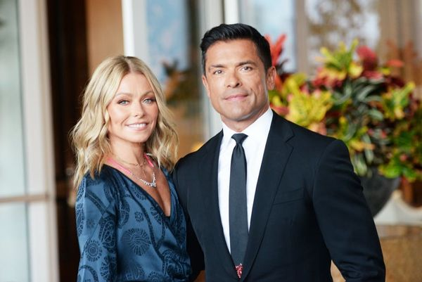 Kelly Ripa'sFamily HolidayCard Features HusbandMark Consuelos With His 'Riverdale' Wife and Daughter