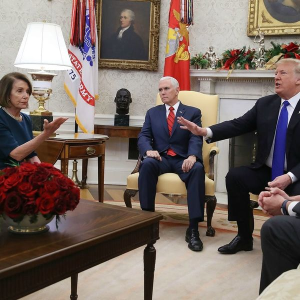 President Trump Threatened to Shut Down the Government if He Doesn't Get His Wall