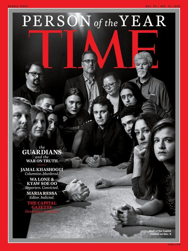 Time's 'Person of the Year' Is a Not-So-Subtle Response to Attacks on the News Media
