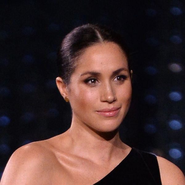 Meghan Markle Ditches Go-To Messy Updo for Polished Bun at British Fashion Awards
