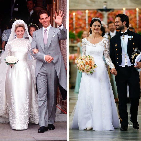 20 of the Most Beautiful Royal Wedding Dresses That Aren't Kate Middleton's or Grace Kelly's