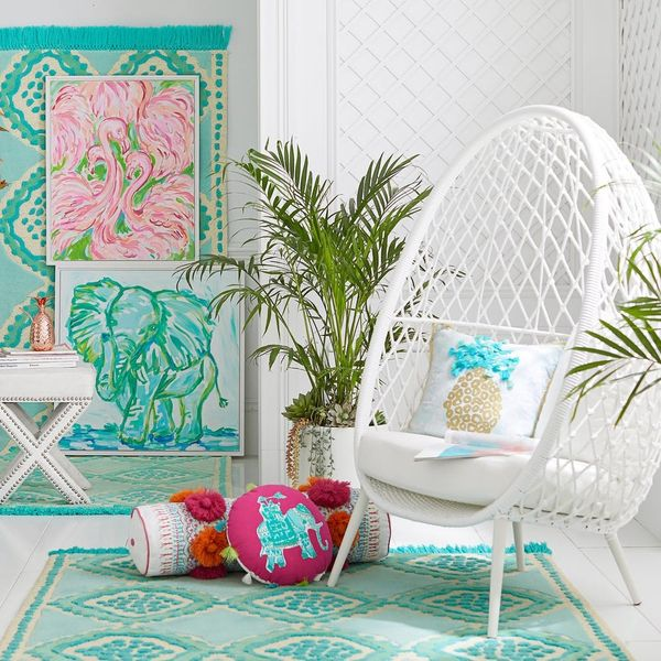 Pottery Barn's New Collection with Lilly Pulitzer Is HERE