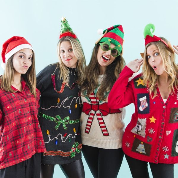 15 Creative Ideas for an Ugly Sweater Holiday Party