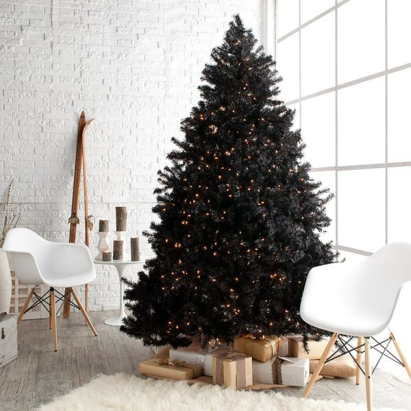 Black Christmas Trees Are a Thing (and They're Not As Goth As You Think)
