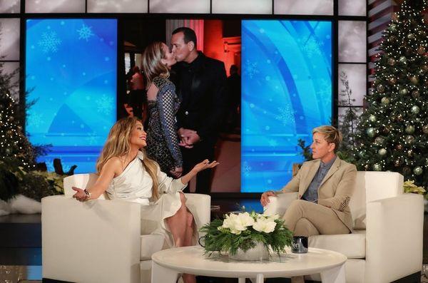 Ellen DeGeneres Grills Jennifer Lopez About Alex Rodriguez Engagement Speculation
