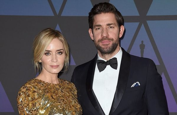 John Krasinski Couldn't Stop Crying Watching Emily Blunt in 'Mary Poppins Returns'