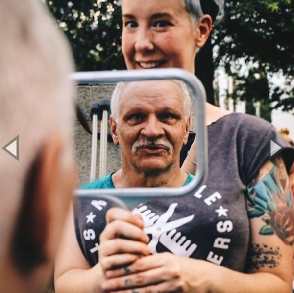 Caroline Lindner's Nashville Street Barbers Gives Free Haircuts to the Homeless — and So Much More