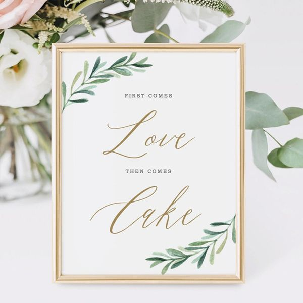 Etsy Wedding Signs That Add the Perfect Finishing Touch