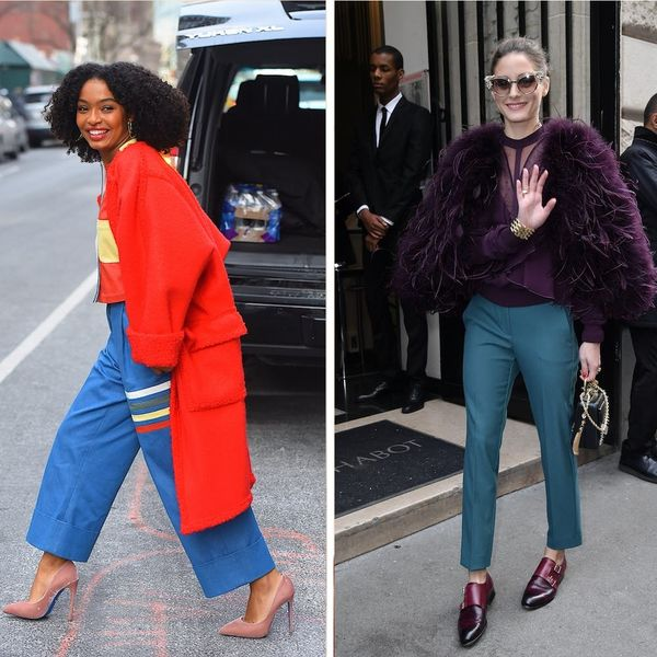 7 Colorful Celeb-Approved Outerwear That Will Brighten Your Winter