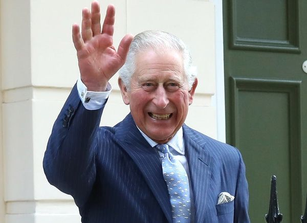 Prince Charles Jokes About Names for Prince Harry and Meghan Markle's Baby
