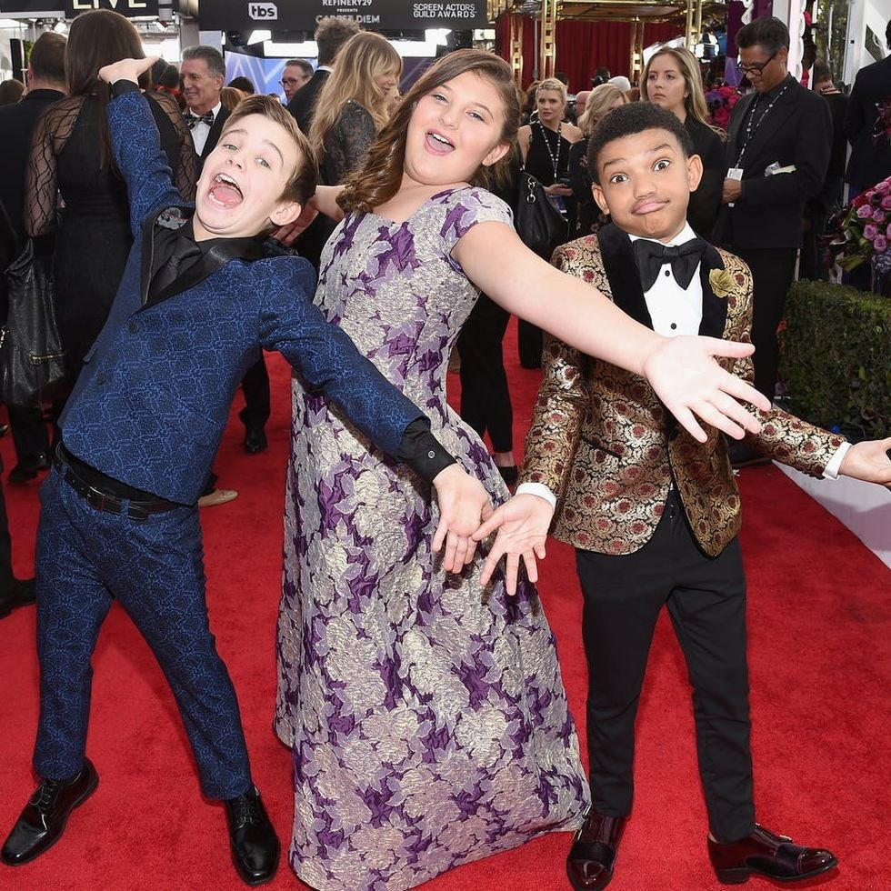 These Young Stars Totally Stole the Show at the 2018 SAG Awards