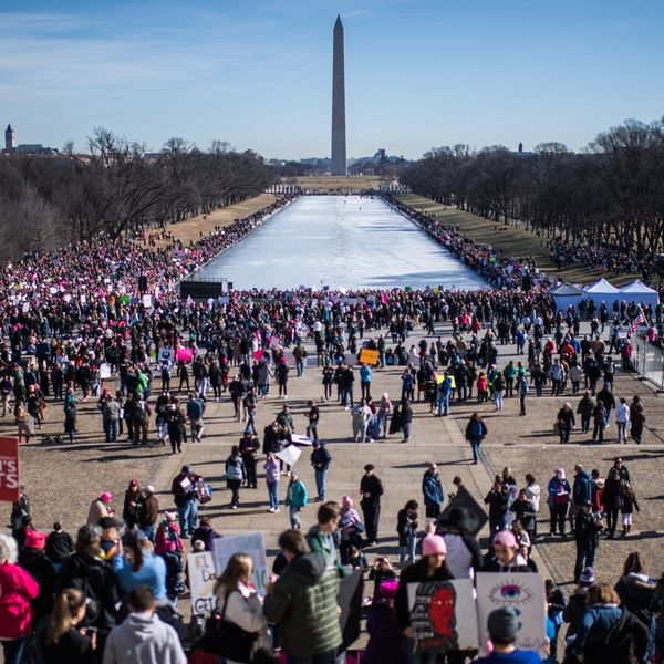 12 Incredibly Powerful Images from 2018 Women's Marches Around the World