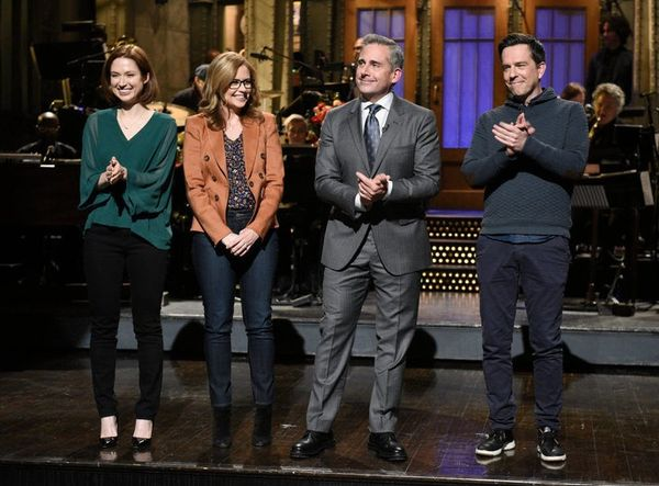 Steve Carell's 'SNL' Opening Monologue Featured a Surprise 'Office' Reunion