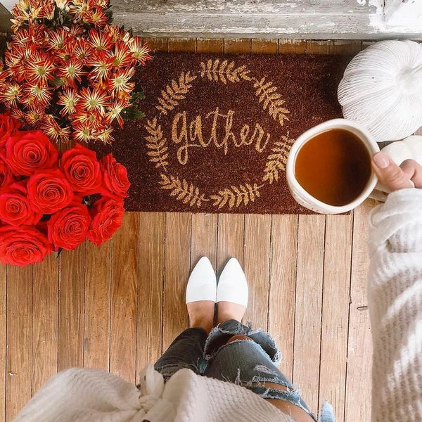 This New #Shoefie Trend Is All About Fall Decor