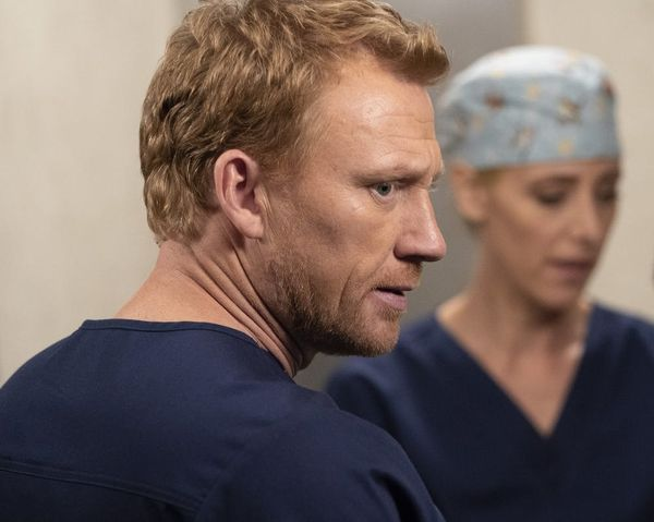 The 'Grey's Anatomy' Fall Finale Gave Us Some Classic Elevator Drama