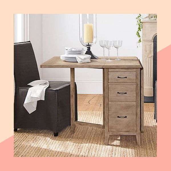 Pottery Barn's New Small Space Collection Was Created With Your Apartment in Mind
