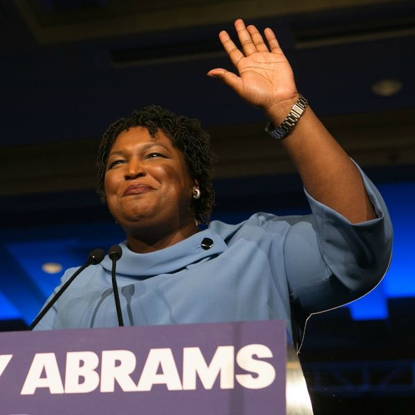 In the Georgia Gubernatorial Race, Stacey Abrams Isn't Conceding Yet