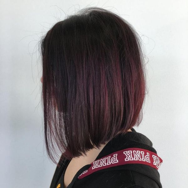 11 Mulled Wine Hair Ideas for Winter 2018