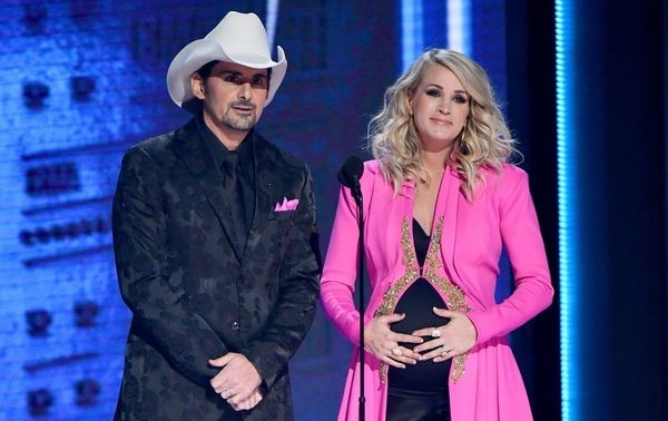 Carrie Underwood Just Revealed the Sex of Baby #2 at the 2018 CMA Awards