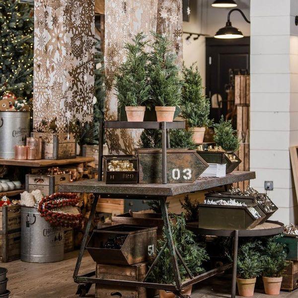 Magnolia Market's Holiday Decor Is Giving Us So Much Festive Farmhouse Inspo