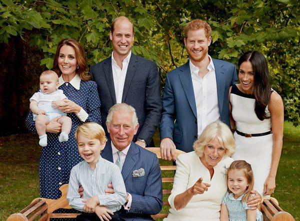 See the Royal Family (Including Prince Louis!) Crack Up in a Pair of New Portraits