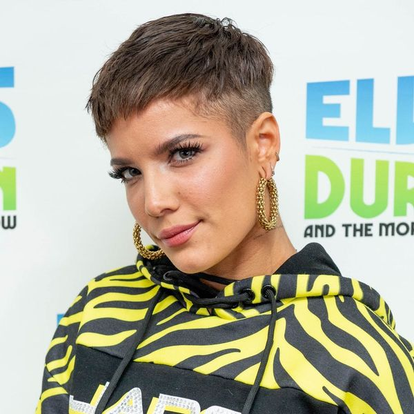 Halsey Gets a Tiny Tattoo Minutes Before Going Onstage