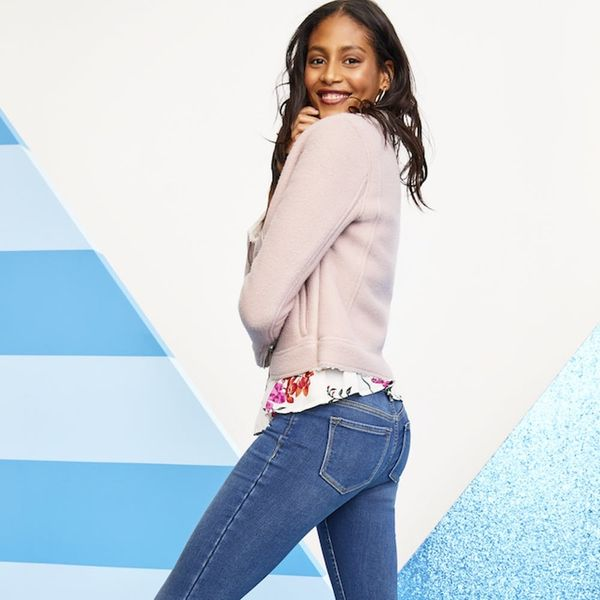 Old Navy's New Warm Jeans Keep You Toasty Without the Bulk