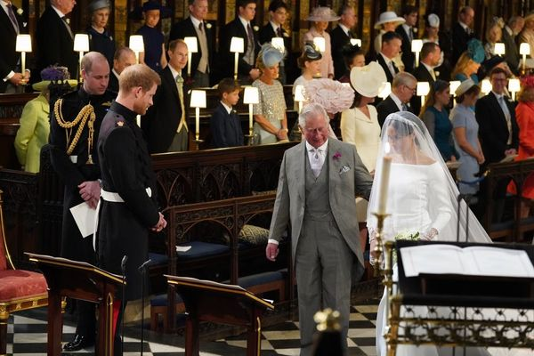 Prince HarryOpens Up About Asking Prince Charles to Walk Meghan Markle Down the Aisle