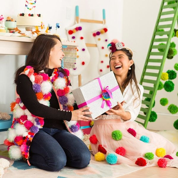 How to Bring the Pom-Pom Christmas Decor Trend to Your Holiday Party