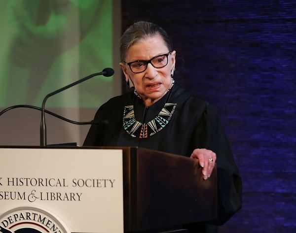 Ruth Bader Ginsburg Has Been Hospitalized After Falling in Her Office