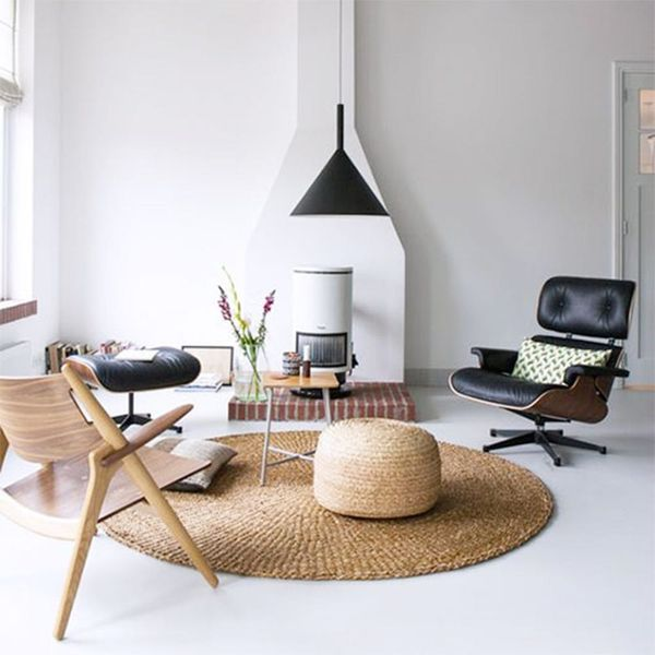 """We're Calling It: Rattan Footstools Are the """"It"""" Home Accessory of 2018"""