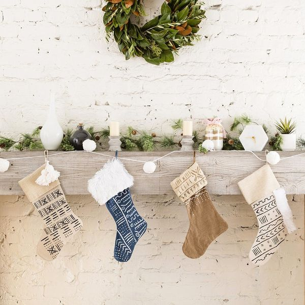 The Mudcloth-Inspired Christmas Trend Will Rival All Your Old Holiday Decor