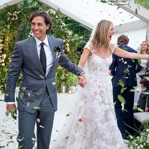 Gwyneth Paltrow Reveals Her Stunning Valentino Wedding Dress