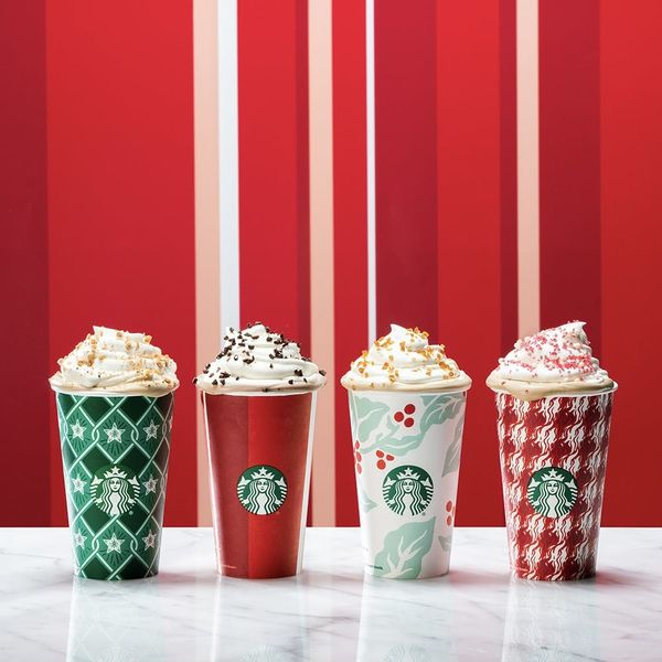 Starbucks Just Revealed Its 2018 Holiday Drinks and We Want Them All