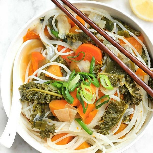 10 Veggie Noodle Soup Recipes to Kick Your Cold