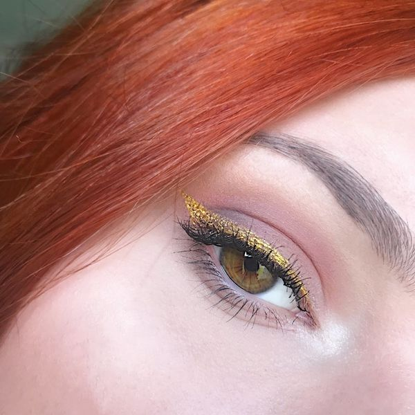 Gold Eyeliner Makeup Ideas for Your Next Holiday Party