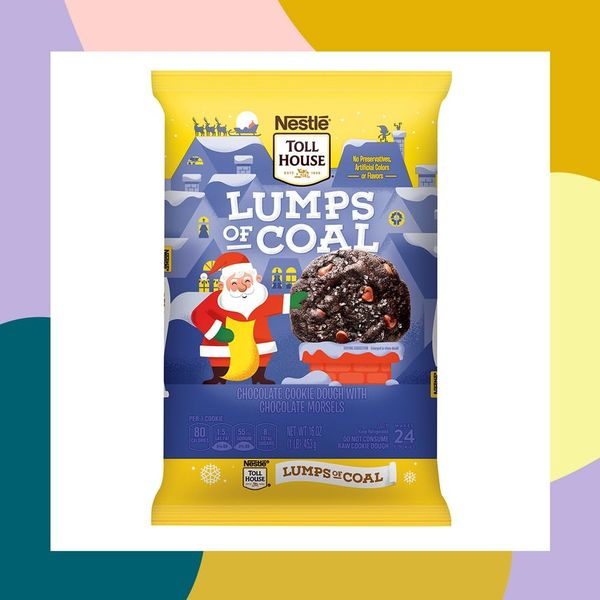 "Toll House's New ""Lumps of Coal"" Cookie Dough Makes Being Naughty Seem Oh-So Nice"