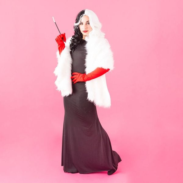 Bring the Cackle With This DIY Cruella de Vil Halloween Costume