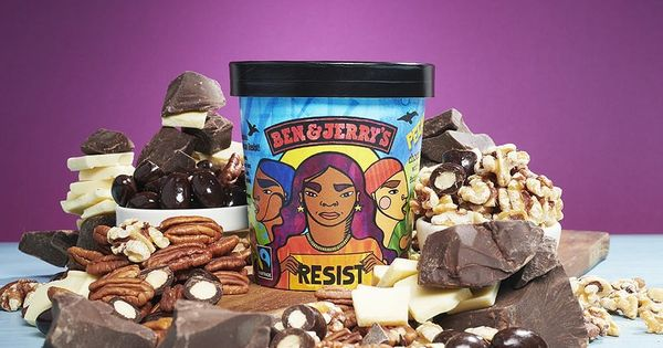 Ben & Jerry's New Ice Cream Lets You Support Activism in a Sweet Way