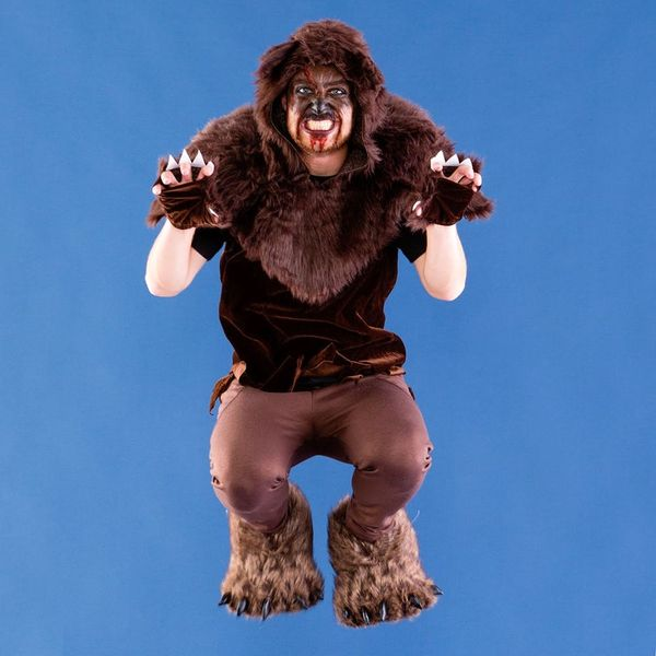Tap into Your Animal Instincts With This DIY Bear Costume