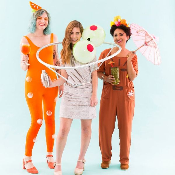 Get Your Drank on in These DIY Cocktail Party Halloween Costumes