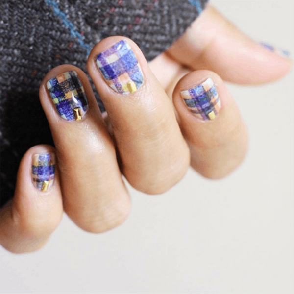 This 2017 Nail Trend Will Have You in Check for Fall