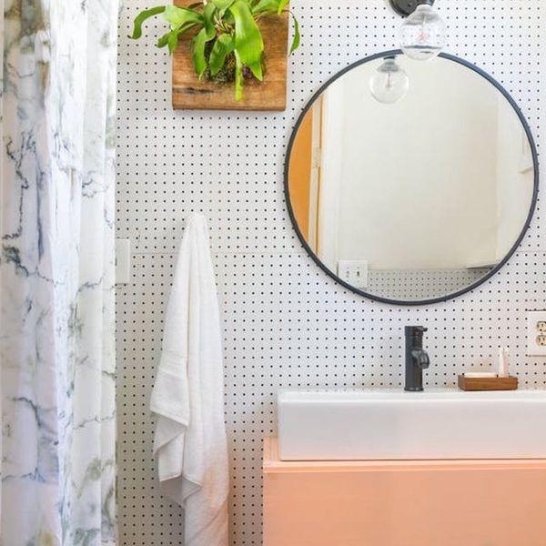 The Genius Bathroom Storage Hack We're Seeing Everywhere