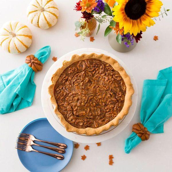 This Thanksgiving Walnut Pie Recipe Has a Hidden Chocolate Layer