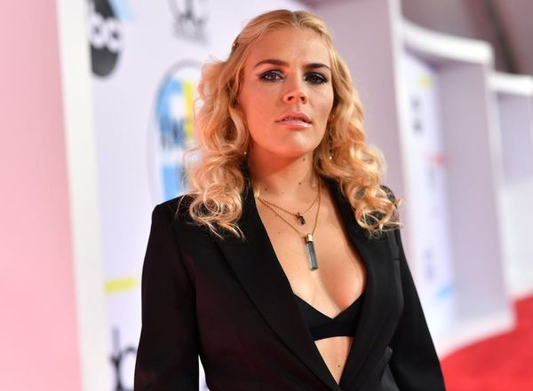 Busy Philipps Fights Back Tears During an Emotional 'Busy Tonight' Set Visit