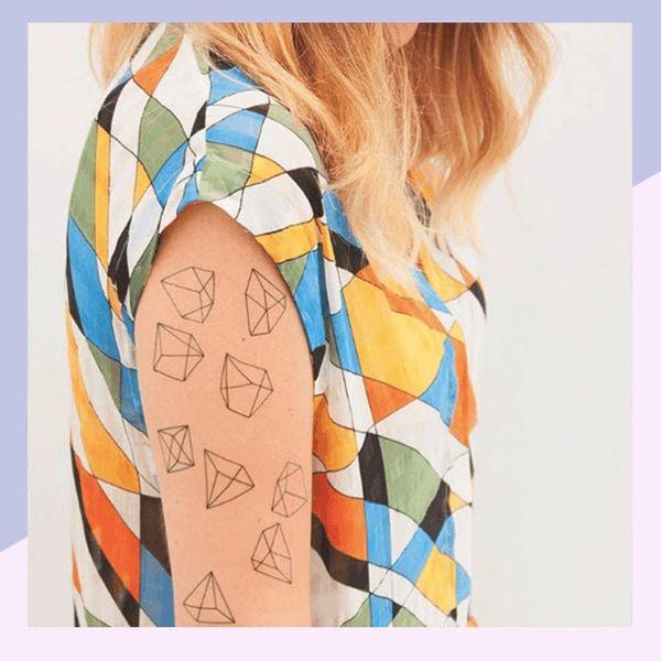 9 Geometric Tattoos Minimalist Gals Will Love